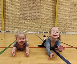 Om gymnaster fra 3 til 5 år